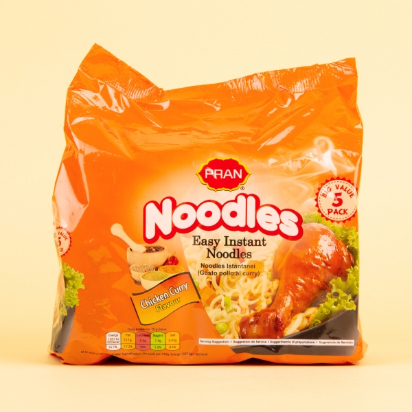 **NEW** Pran Instant Noodles 5pk - Chicken Curry