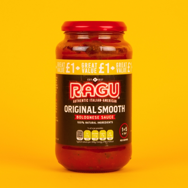 **NEW** Ragu Smooth Bolognese Sauce 500g