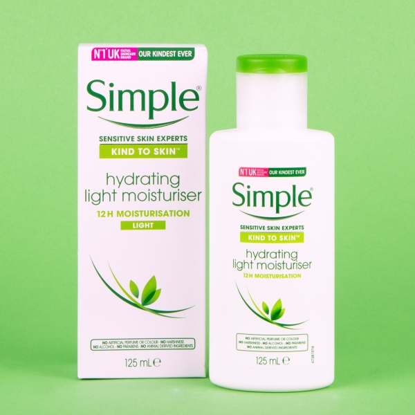 **NEW** Simple Hydrating Moisturiser 125ml