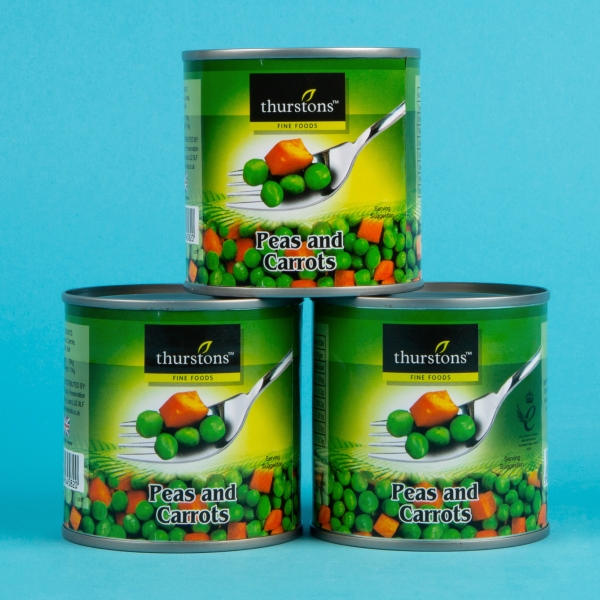 **NEW** Thurstons Tinned Peas and Carrots 3pk