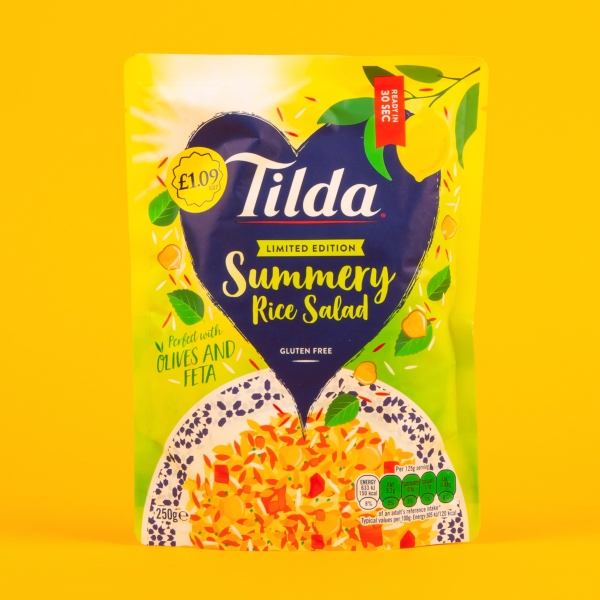 **NEW** Tilda Microwavable Summery Salad Rice 250g