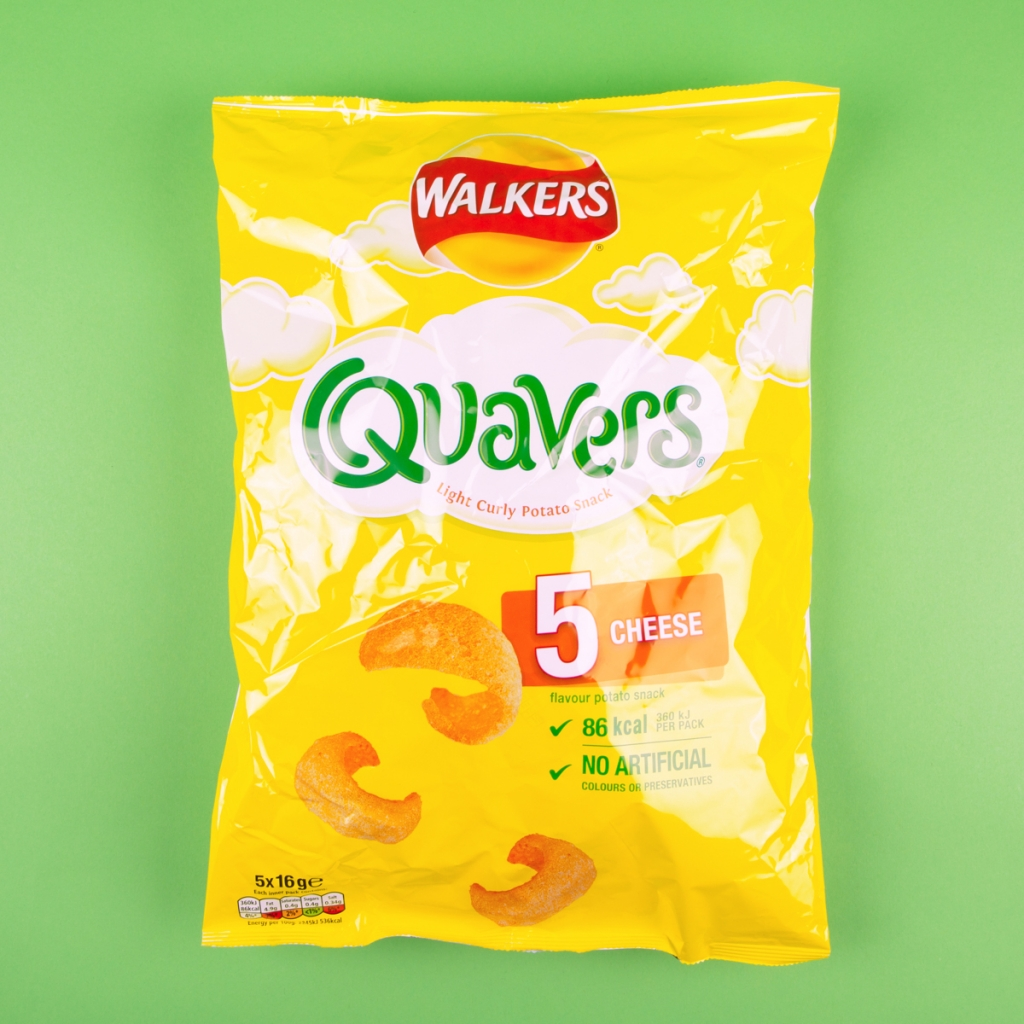 **NEW** Walkers Quavers 5pk
