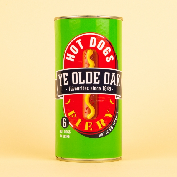 **NEW** Ye Olde Oak Fiery Chilli Hotdog Sausages 560g
