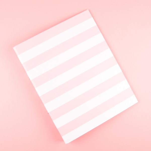 **NEW** A4 Ringbinder Folder - Striped