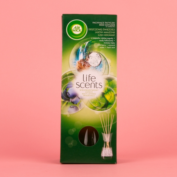 **NEW** Airwick Life Scents Reed Diffuser 30ml - Lush Hideaway