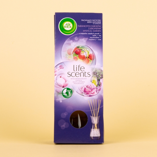 **NEW** Airwick Life Scents Reed Diffuser 30ml - Mystical Garden