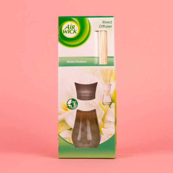 **NEW** Airwick Reed Diffuser 25ml - White Flowers