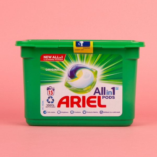 **NEW** Ariel 3-in-1 Laundry Pods 15pk