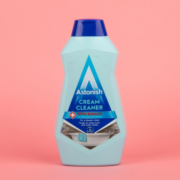 **NEW** Astonish Cream Cleaner with Bleach 500ml