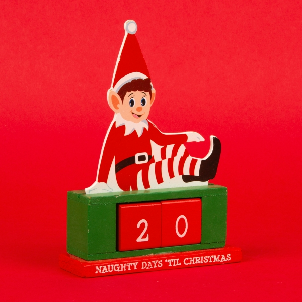 **NEW** Christmas Countdown Decoration with Date Blocks