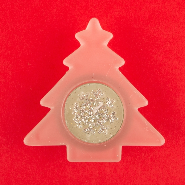 **NEW** Christmas Tealight Candle and Tree Holder Set