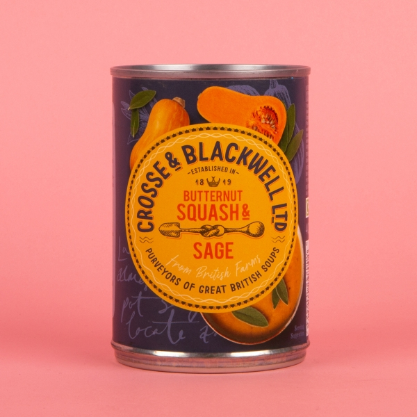 **NEW** Crosse & Blackwell Butternut Squash & Sage Soup 400g