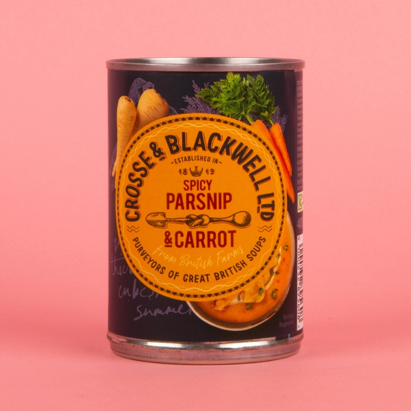 **NEW** Crosse & Blackwell Spicy Parsnip & Carrot Soup 400g