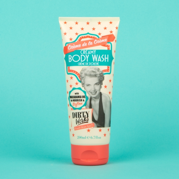 **NEW** Dirty Works Macadamia Body Wash 200ml