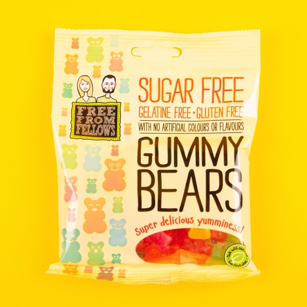 **NEW** Free From Fellows Sugar Free Gummy Bears 70g