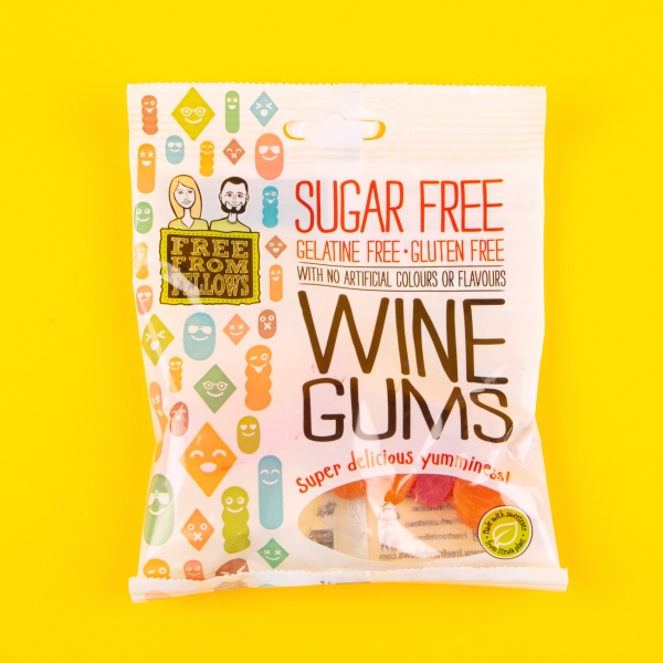 **NEW** Free From Fellows Sugar Free Wine Gums 70g