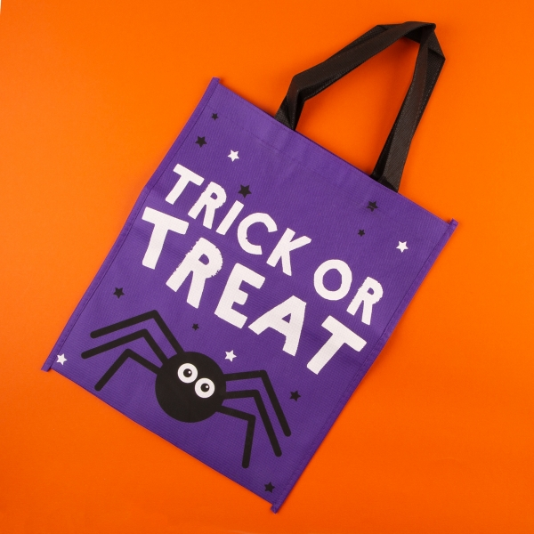 **NEW** Halloween Trick or Treat Bag - Spider