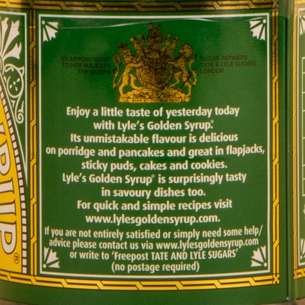 **NEW** Lyle's Golden Syrup Tin 454g