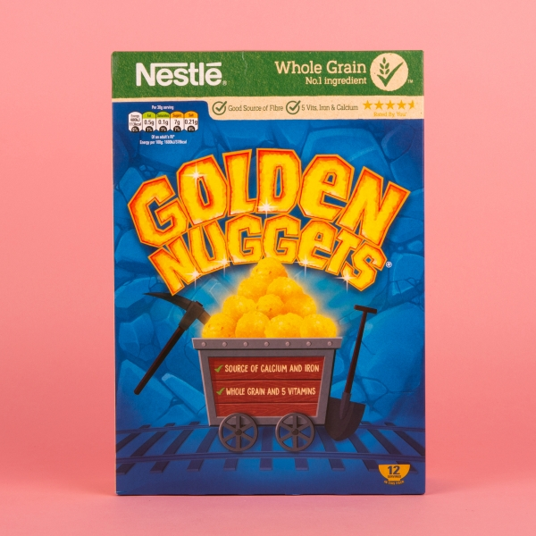 **NEW** Nestle Golden Nuggets Cereal 375g