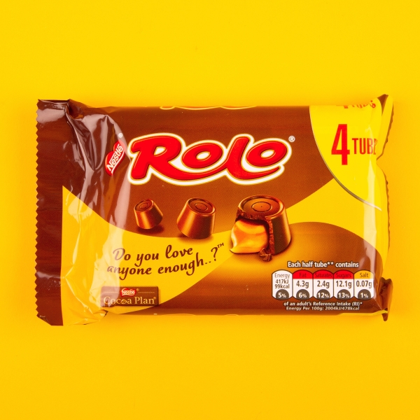 **NEW** Nestle Rolo Tubes 4pk