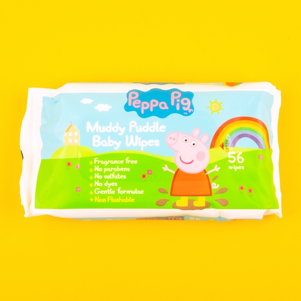 **NEW** Peppa Pig Baby Wipes 56pk