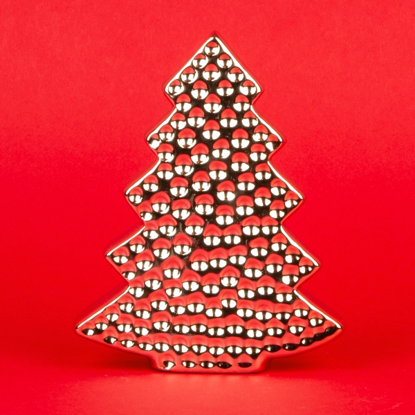 **NEW** Rose Gold Plated Christmas Tree Decoration 13cm
