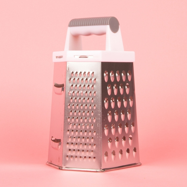 **NEW** Six-Sided Food Grater - Grey