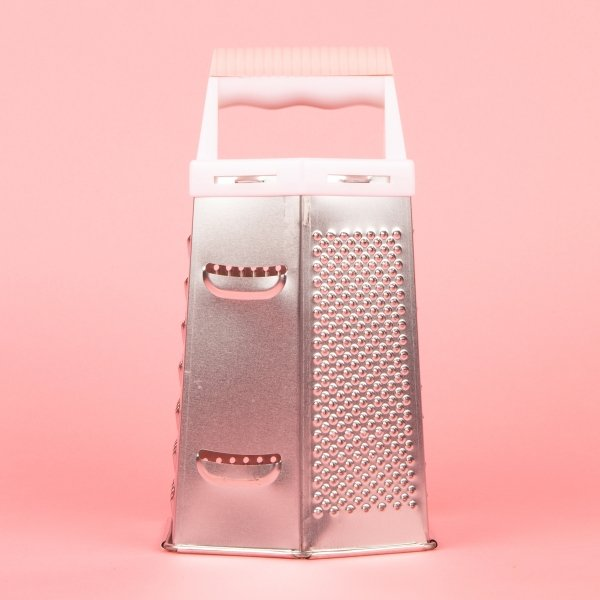 **NEW** Six-Sided Food Grater - Pink