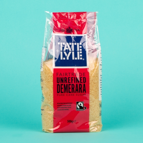 **NEW** Tate & Lyle Dermerara Sugar 500g