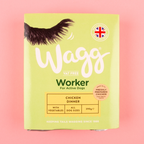 Wagg Chicken Dog Dinner 390g