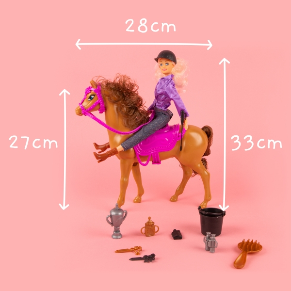 Doll and Horse Play Set - Blonde