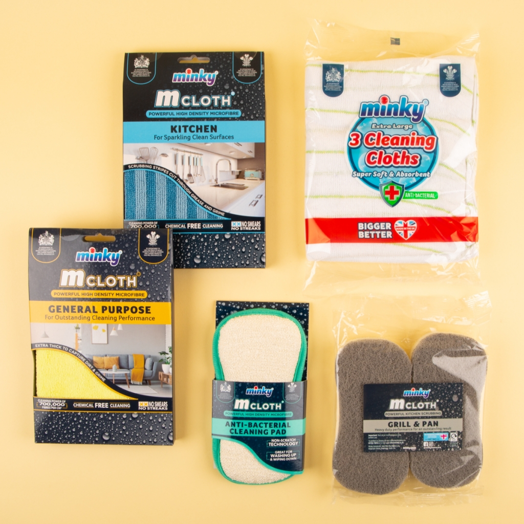 Minky Cleaning Essentials Bundle
