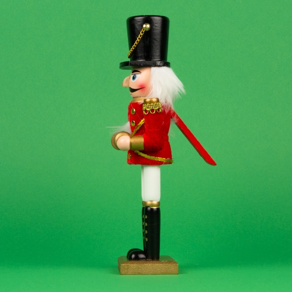 "**NEW** Band Nutcracker Decoration 10"" - Cymbals"