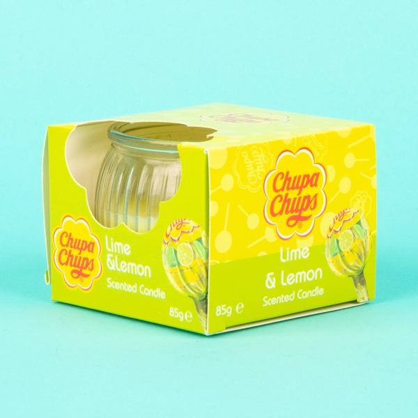 **NEW** Chupa Chups Scented Candle 85g - Lime & Lemon