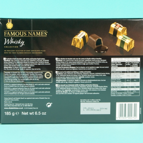**NEW** Famous Names Whiskey Collection