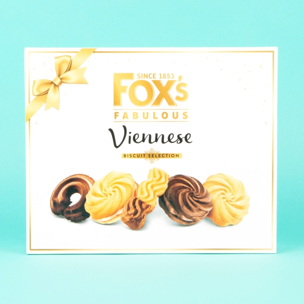 **NEW** Fox's Fabulous Viennese Biscuit Selection 350g