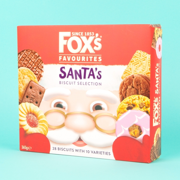 **NEW** Fox's Santa's Favourites Biscuit Selection 365g