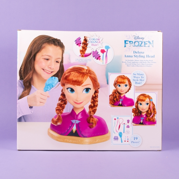 **NEW** Frozen Deluxe Anna Styling Head