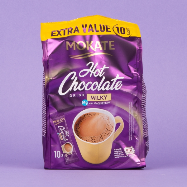 **NEW** Mokate Instant Milky Hot Chocolate 10pk