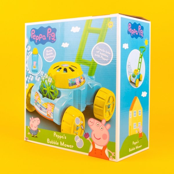 **NEW** Peppa Pig Bubble Mower Toy