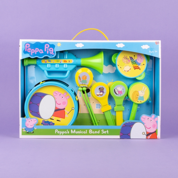 **NEW** Peppa Pig Musical Band Set