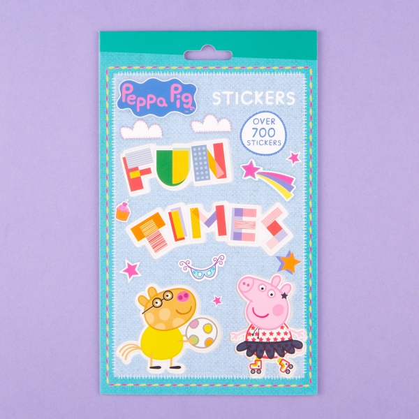 **NEW** Peppa Pig Sticker Pad 700pk