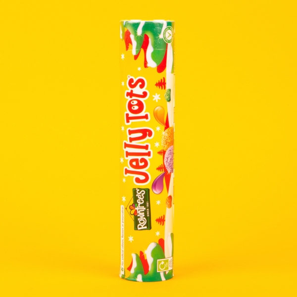 **NEW** Rowntree's Jelly Tots Giant Tube 130g