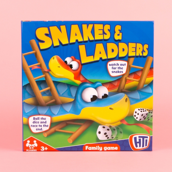 **NEW** Snakes and Ladders Family Game