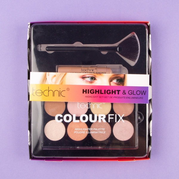 **NEW** Technic Highlight & Glow Palette