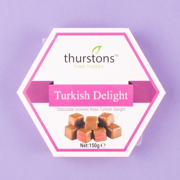 **NEW** Thurstons Chocolate Covered Turkish Delight 150g