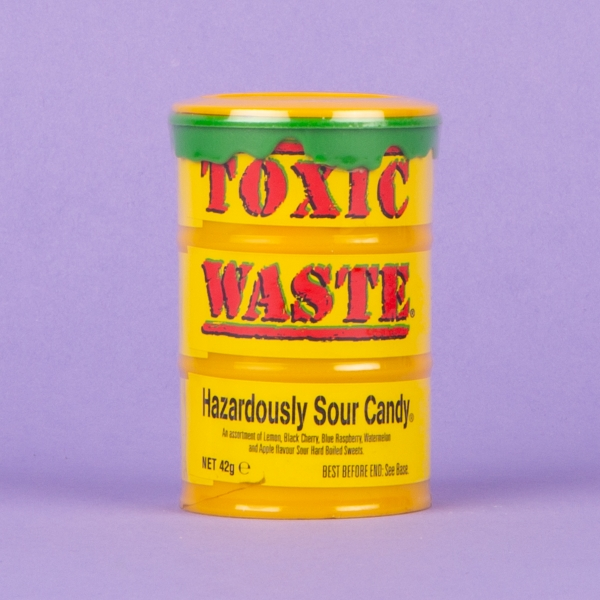 **NEW** Toxic Waste Sour Candy 42g