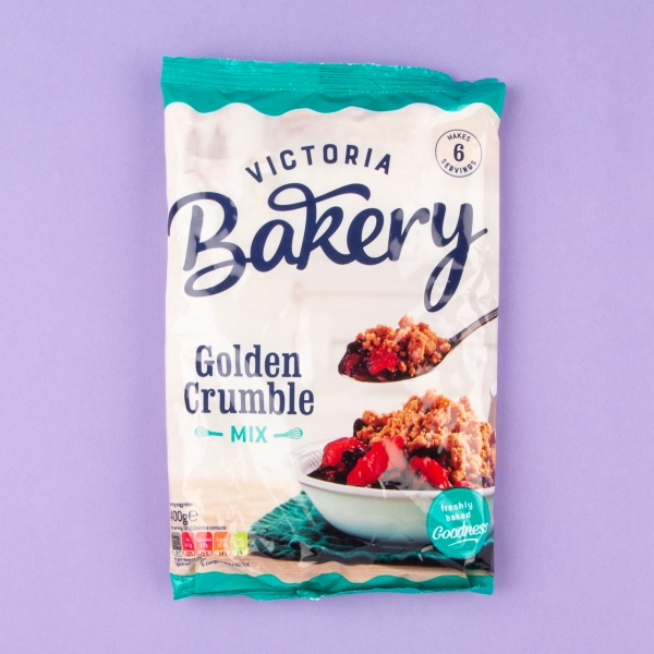 **NEW** Victoria Bakery Golden Crumble Mix 400g