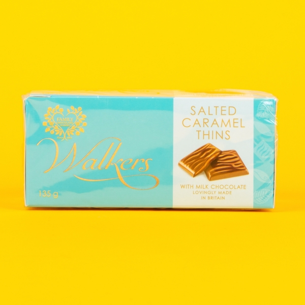 **NEW** Walkers After Dinner Salted Caramel Thins 135g