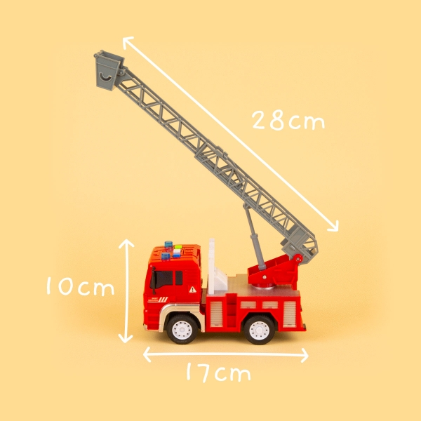 Toy Fire Truck with Lights and Sound